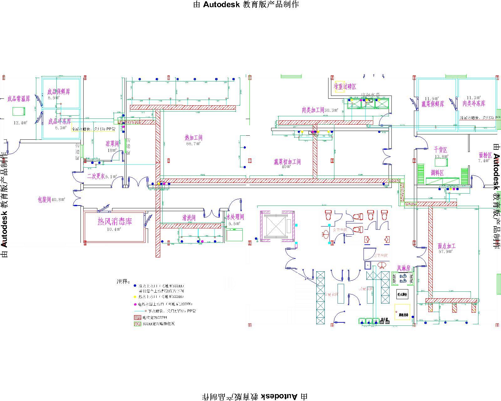 中央厨房设计套图_厨房设备厂|北京厨房设备公司|食堂